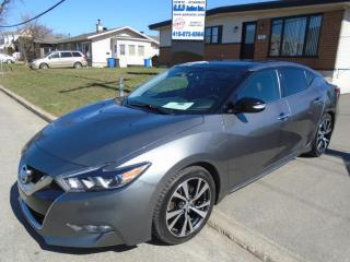 Used 2017 Nissan Maxima SL for sale in Ancienne Lorette, QC
