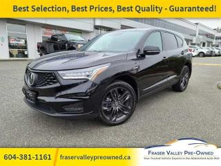 Used 2019 Acura RDX A-Spec AWD  - One owner - Local - $297 B/W for sale in Abbotsford, BC