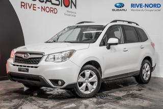 Used 2015 Subaru Forester Commodité 4x4 Gar. 1 AN for sale in Boisbriand, QC