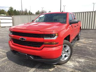 Used 2019 Chevrolet Silverado 1500 LD CUSTOM DBLE CAB 4WD for sale in Cayuga, ON
