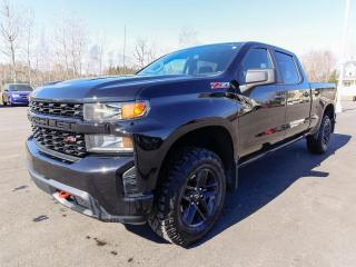 Used 2020 Chevrolet Silverado 1500 CUSTOM TRAIL BOSS CREW CAMÉRA GR. REMORQ *BAS KM* for sale in St-Jérôme, QC