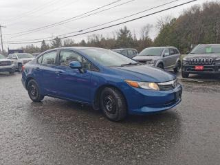 Used 2012 Honda Civic LX for sale in Madoc, ON