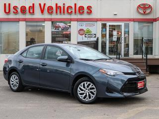 Used 2017 Toyota Corolla LE AWD HEAT-SEAT ALLOYS REV-CAM 1-OWNER LOW-KMS for sale in North York, ON