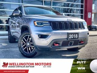 Used 2018 Jeep Grand Cherokee Trailhawk --> New Brakes & Rotors !! for sale in Guelph, ON