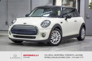 Used 2015 MINI Cooper Hardtop MANUELLE; CUIR TOIT PANO SIEGES CHAUFFANT MAGS 3 PORTES - TRANSMISSION MANUELLE 6 VITESSE - TOIT PANORAMIQUE - SIÈGES AVANT CHAUFFANT - MAGS 16'' for sale in Lachine, QC
