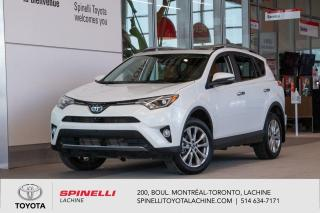 Used 2017 Toyota RAV4 Limited RARE! CAMERA 360! CUIR! BAS KILOMETRES! for sale in Lachine, QC