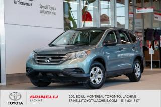 Used 2013 Honda CR-V LX CERTIFIER SPINELLI! for sale in Lachine, QC