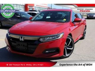 Used 2019 Honda Accord Sport | Manual | Power Moonroof for sale in Whitby, ON