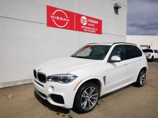 Used 2016 BMW X5 xDrive35i / AWD / M Sport / Loaded / Nav/ Roof / Leather for sale in Edmonton, AB