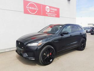 Used 2018 Jaguar F-PACE S / LOADED / HEATED SEATS ALL AROUND / ROOF / BLACK ON BLACK for sale in Edmonton, AB