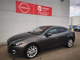Used 2014 Mazda MAZDA3 GT-SKY/AUTO/BLUETOOTH/SUNROOF/LEATHER/HEADS UP DISPLAY for sale in Edmonton, AB
