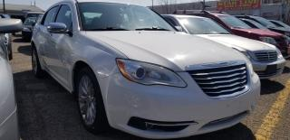 Used 2012 Chrysler 200 Limited for sale in Pickering, ON