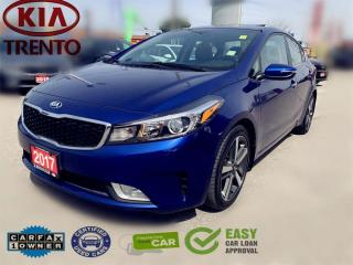 Used 2017 Kia Forte EX Luxury|Sunroof|Leather|Push Start|BSD|Pwr Seat| for sale in North York, ON