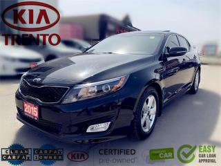 Used 2015 Kia Optima Auto LX w-Sunroof|Low Km|1 Owner|No accident|CPO| for sale in North York, ON