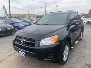 Used 2012 Toyota RAV4 Base,4WD for sale in Hamilton, ON
