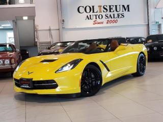 Used 2016 Chevrolet Corvette STINGRAY CONVERTIBLE-2LT-AUTOMATIC-NAVI-HUD-LOADED for sale in Toronto, ON