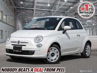 Used 2012 Fiat 500 Pop* Ready for your fun personal touches! for sale in Mississauga, ON