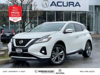 Used 2019 Nissan Murano Platinum AWD for sale in Markham, ON