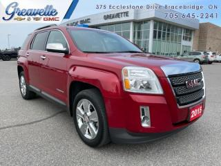 Used 2015 GMC Terrain TERRAIN SLT  - Leather Seats for sale in Bracebridge, ON