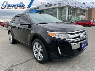 Used 2013 Ford Edge LIMITED  - Leather Seats -  Bluetooth for sale in Bracebridge, ON