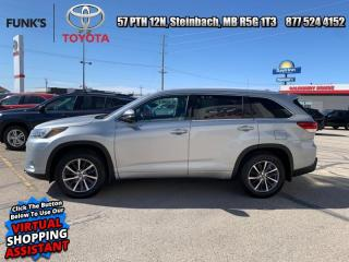 Used 2018 Toyota Highlander XLE AWD  - Navigation -  Sunroof for sale in Steinbach, MB