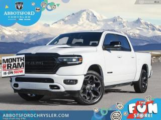 New 2021 RAM 1500 Limited  - Night Edition - Sunroof - $591 B/W for sale in Abbotsford, BC