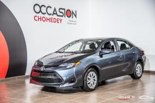 Used 2017 Toyota Corolla LE+CAMERA DE RECUL+SIEGES CHAUFFANTS+BLUETHOOTH for sale in Laval, QC