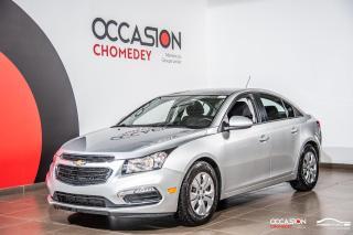 Used 2016 Chevrolet Cruze LT+CAMERA DE RECUL+BLUETHOOTH+REG DE VITESSE for sale in Laval, QC