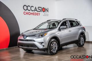 Used 2018 Toyota RAV4 Hybrid LE+ TOIT OUVRANT+VOLANT/SIEGES CHAUFFANTS for sale in Laval, QC