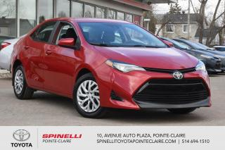 Used 2018 Toyota Corolla LE SIÈGES CHAUFFANT, BLUETOOTH for sale in Pointe-Claire, QC