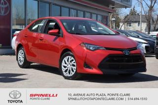 Used 2017 Toyota Corolla LE SIÈGES CHAUFFANT, CAMÉRA DE RECUL for sale in Pointe-Claire, QC