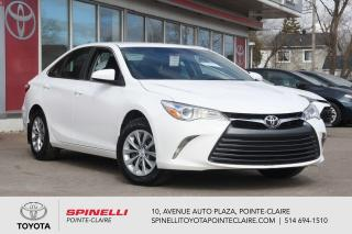 Used 2017 Toyota Camry LE GROUPE ÉLECTRIQUE for sale in Pointe-Claire, QC