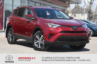 Used 2018 Toyota RAV4 LE FWD MAGS, CAMÉRA DE RECUL, SIÈGES CHAUFFANT for sale in Pointe-Claire, QC
