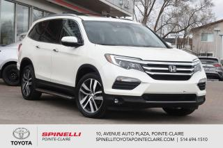 Used 2017 Honda Pilot TOURING DVD, GPS, CUIR, TOIT PANORAMIQUE for sale in Pointe-Claire, QC