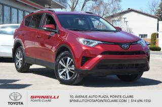 Used 2018 Toyota RAV4 LE AWD CAMÉRA DE RECUL, SIÈGES CHAUFFANT for sale in Pointe-Claire, QC