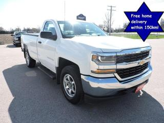Used 2016 Chevrolet Silverado 1500 Work Truck 4X4 V6 Long box Only 106000 km's for sale in Gorrie, ON