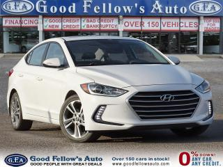 Used 2017 Hyundai Elantra GLS MODEL, REARVIEW CAMERA, BLIND SPOT, SUNROOF for sale in Toronto, ON