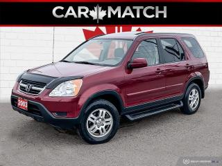 Used 2003 Honda CR-V EX / SUNROOF / 4WD / ONLY 51,648 KM for sale in Cambridge, ON