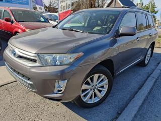 Used 2012 Toyota Highlander Hybrid LIMITED for sale in Ottawa, ON