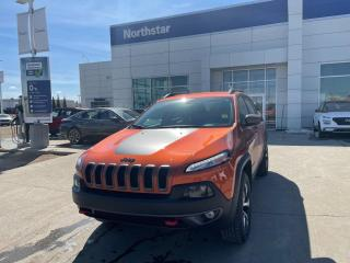 Used 2015 Jeep Cherokee TRAILHAWK/V6/PWRTAIL/PANOROOF/NAV/COOLEDSEATS for sale in Edmonton, AB