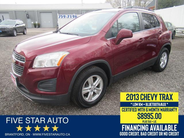 2013 Chevrolet Trax LT - Certified w/ 6 Month Warranty
