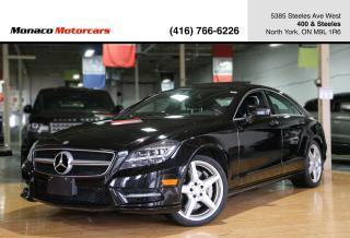Used 2014 Mercedes-Benz CLS-Class CLS550 4MATIC - AMG|SUNROOF|NAVI|BACKUP|BLINDSPOT for sale in North York, ON