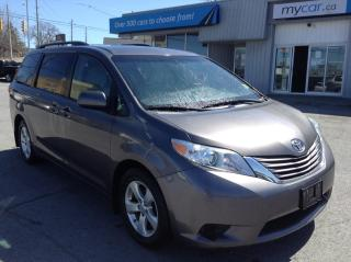 Used 2017 Toyota Sienna LE 8 Passenger PWR DOORS, PWR HEATED SEAT, BACKUP CAM, ALLOYS!! for sale in Richmond, ON
