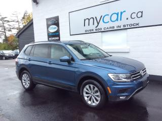 Used 2018 Volkswagen Tiguan Trendline CONVENIENCE PKG, HEATED SEATS, TOUCH SCREEN, FOGS! for sale in North Bay, ON