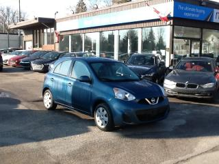 Used 2018 Nissan Micra SV POWERGROUP/A/C, LOW MILEAGE!! for sale in North Bay, ON