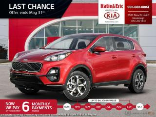 New 2021 Kia Sportage LX 6 Months Payments On Us End's May 31s for sale in Mississauga, ON