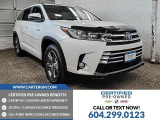 Used 2018 Toyota Highlander HYBRID for sale in Burnaby, BC