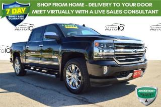 Used 2017 Chevrolet Silverado 1500 High Country LOADED for sale in Grimsby, ON