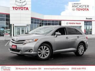 Used 2016 Toyota Venza 4 CYL | ONE OWNER | OFF LEASE for sale in Ancaster, ON