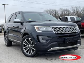 Used 2017 Ford Explorer Platinum LEATHER  MASSAGING HEATED SEATS, HEATHED STEERING, NAVIGATION for sale in Midland, ON